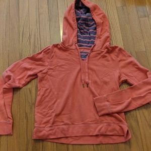 Arizona Jean Company Tops - Coral sweatshirt with double lining hood